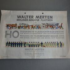 Walter Merten Katalog / Prospekt 1960 (54137)