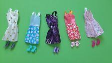 Kleidung Kleider Kleid Sets Schuhe Stiefel für Barbie Puppe 10 Teile