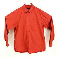 Ermenegildo Zegna Sport XL Button Down Long Sleeve Casual Dress Shirt Pocket