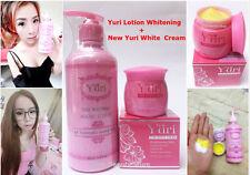SET YURI WHITENING BODY LOTION+GINSENG CREAM LIGHTENING BODY FACE SKIN+TRACKING.