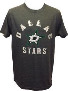 New Dallas Stars Mens Sizes S-M-L-XL-2XL-3XL Gray G-III Shirt