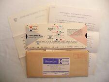 Vintage Alcoa Aluminum Conductor Slide Selector w/ Letter, Tech Brief, Envelope