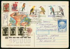 Mayfairstamps MOLDOVA COMMERCIAL 1993 COVER WITH BIRD STAMPS wwh25353