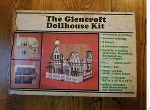 """Glencroft"" Miniature Dollhouse Kit by Greenleaf Brand New in Original Box"