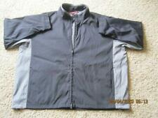 Port Authority 4XL Lined Jacket Black With Gray Trim  Port Pocket  NWT Very Nice