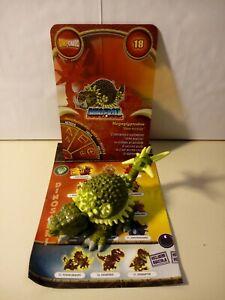 Personaggio MEGAGLYPTODON N° 18 Dinofroz Combact 3ª Serie con Card e foglietto