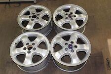 Set 1999 2000 2001 2002 2003 Saab 9-3 9-5 OEM Factory 30588917 Wheels Rims 68222