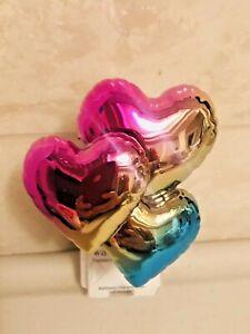 Bath & Body Works Wallflower Plug-In HEART BALLOONS Purple Pink Gold Blue NEW