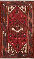 Geometric Traditional Tribal Wool Area Rug Hand-Knotted Oriental Carpet 3x5 New