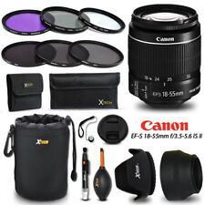 Canon EF-S 18-55mm f/3.5-5.6 IS STM f/ Canon EOS Rebel T3 + Accessories KIT