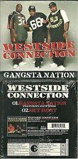 CD 2 TITRES - WESTSIDE CONNECTION : GANGSTA NATION / RAP US USA