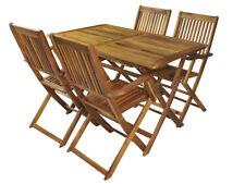 Gartenmöbel Holz Sitzgruppe Gartenset Sitzgarnitur Esstischgruppe Balkon #5359