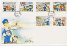 Unaddressed Isle of Man FDC First Day Cover 1994 Postman Pat 10% off 5+