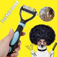 Dog Cat Pet Fur Dematting Grooming Deshedding Trimmer Professional Remover Tool
