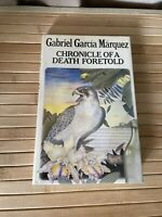 Chronicle of a Death Foretold by Gabriel Garcia Marquez - 1982 UK 1st/1st HB