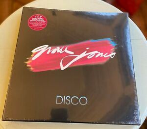 Grace Jones - The Disco Years - SEALED NEW 4 Vinyl LP Box Set 2015
