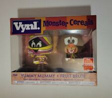 Funko Vynl YUMMY MUMMY + FRUIT BRUTE SDCC 2018 Exclusive MONSTER CEREALS LE