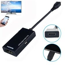 New  1080P HDTV Micro USB To HDMI Cable  Connector MHL Adapter