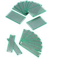 10pcs Universal Two-side Soldering Circuit PCB Board DIY Prototype Stripboard ZY