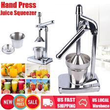 Hot Orange Hand Press Commercial Manual Citrus Fruit Lemon Juicer Juice Squeezer