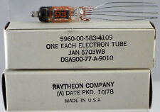 10x RAYTHEON Subminiatur-Triode JAN 5703WB, NOS, perfect condition