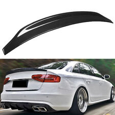 Carbon Fiber Highkick Trunk Lid Spoiler Wing Cat Style For 2009-16 AUDI S5 RS5