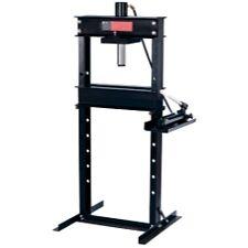 Omega 60253 25 Ton Shop Press With Hand Pump