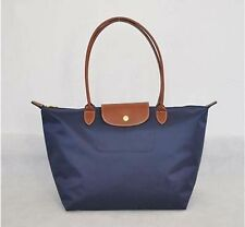 Authentic New Longchamp Le Pliage Navy Blue tote bag Large L