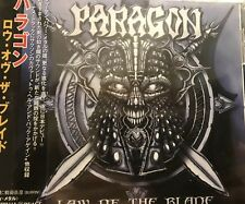 Paragon Law Of The Blade Sealed Cd Japan