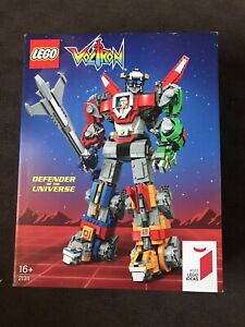 NEW SEALED LEGO Ideas 21311 Voltron FREE SHIPPING