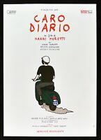 Manifesto Caro Diario Nanni Moretti Moto Vespa Piaggio Biblioteca de Películas