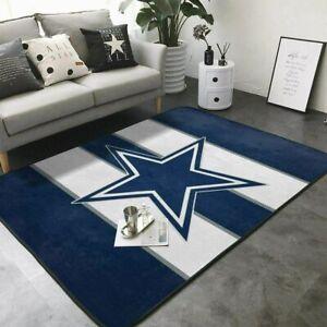Dallas Cowboys Rugs Anti-Skid Area Rug Living Room Bedroom Floor Mat Carpet
