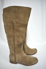 New Franco Sarto Women's  Caydee Wide Calf Tall knee high Suede Boots Size 8M