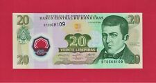 Honduras UNC 20 Lempiras 2008 Polymer Note - (Pick-95a.2) POLISH PRINTER (PWPWW)