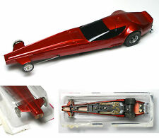 1975 Aurora AFX 4-Gear Magnatraction AZTEC DRAGSTER Slot Car 1792 No Nose Chrome