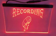 recording Bar Beer pub club 3d signs Led Neon Sign red