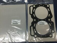 2 OEM Subaru Head Gaskets 2.5 SOHC 1999 & Up Legacy Forester Outback Impreza SET