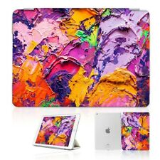 ( For iPad 2 3 4 ) Front Back Case Cover PB40075 Art Paint