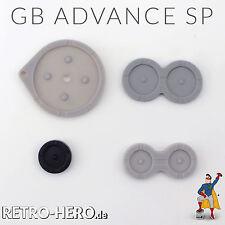 Game Boy Advance SP Gummi Pads conductive Buttons Tasten gameboy kontakte Knöpfe