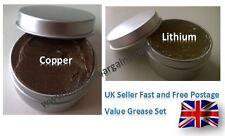 Lithium and Copper Grease Set Brake Caliper Piston Seals O Rings Bike Car Auto