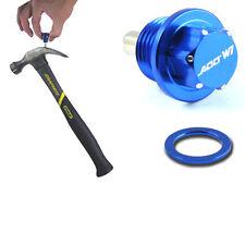 ADD W1 Engine Magnetic Oil Drain Plug M14 X 1.5mm 14x1.5mm Blue Nut Bolt