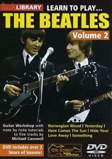 LEARN TO PLAY THE BEATLES 2 LICK LIBRARY GUITAR DVD