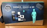 NIVEA FOR MEN COLLECTION 5 PIECE GIFT SET PERSONAL SKIN CARE KIT NEW