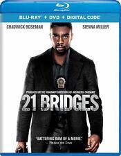 21 BRIDGES ( BLU-RAY DISC ONLY NO DVD OR DIGITAL COPY) FREE SHIPPING!!!