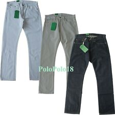 New Polo Ralph Lauren 018 Slim Straight Jeans Pants