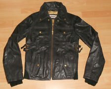 ONLY ECHT Damen Lederjacke Golddigger Gr. M  LEATHER Damenlederjacke Echtleder