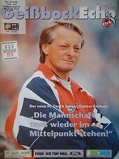 Programm 1997/98 1. FC Köln - FC Schalke