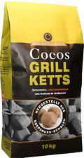 Cocos Ketts ökologische Grillkohle-Briketts aus Kokosnuss 10kg