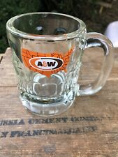Vintage A&W Mug, 4.25 inches tall