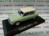 RBA2M voiture 1/43 RBA Italie IXO : CITROEN AMI 6 1962 vert pâle